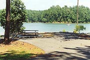 a view of Lake Allatoona and McKaskey Creek Campground