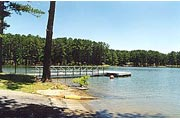 the boat launch and dock at Sweetwater Creek Campground, Lake Allatoona