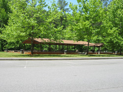a bartow county park hiking trail